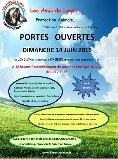 Portes Ouvertes 14 Juin 2015