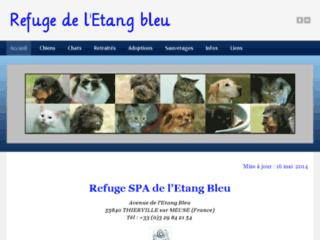 Refuge etang bleu com