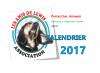 """Calendrier 2017 """"Les Amis de Lewis"""""""